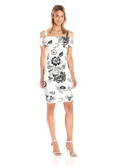 GUESS Women's Off Shoulder Elyza Dress  XS