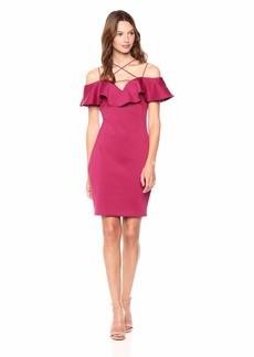 GUESS Women's Off Shoulder MARA Dress  XL