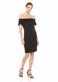 GUESS Women's Off Shoulder Molly Dress  a S