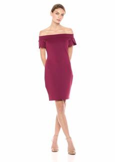 GUESS Women's Off Shoulder Molly Dress  L