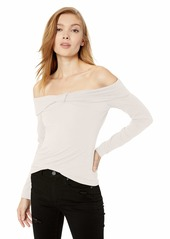 GUESS Women's Off The Shoulder Alyx Top  M