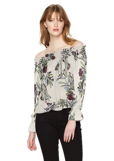 GUESS Women's Off The Shoulder Bethany Top  XS