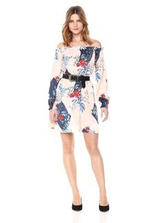 GUESS Women's Off The Shoulder Cayenne Dress  XS