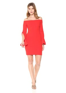 GUESS Women's Off The Shoulder Else Dress  XS