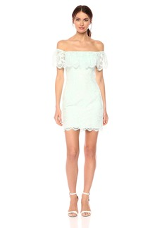 GUESS Women's Off The Shoulder Francine Dress