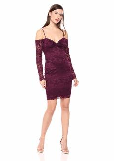 GUESS Women's Off The Shoulder Gabbie Dress  M
