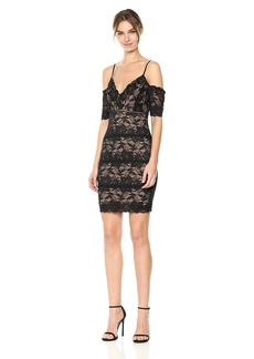 Guess Women's Off The Shoulder Marcy Lace Dress  S