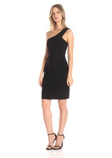 GUESS Women's One Shoulder Dress