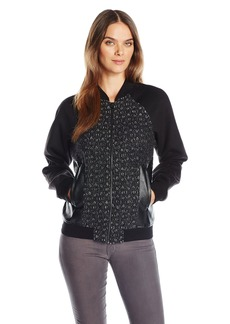 Guess Women's ong Sleeve Danney Bomber Jacket