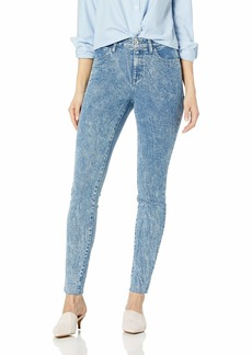GUESS Women's Orbit 1981 Skinny Jean Blue wash