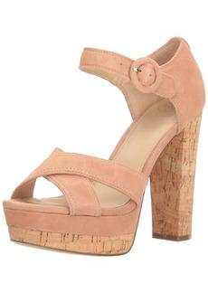 GUESS Women's Parris Heeled Sandal   Medium US