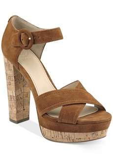Guess Women's Parris Two-Piece Platform Sandals Women's Shoes