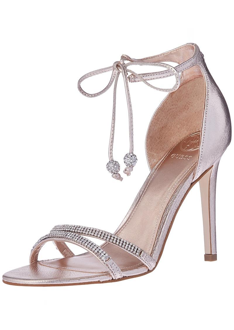 Guess Women's Peri Heeled Sandal   Medium US