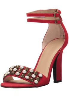 GUESS Women's PETUNIA2 Heeled Sandal