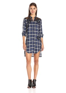 GUESS Women's Plaid Doris Dress
