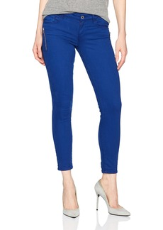 Guess Women's Power Skinny Jean Pigment dye Sodalite Blue