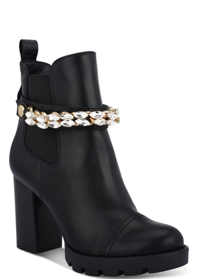 Guess Women's Rafiele Embellished Booties Women's Shoes