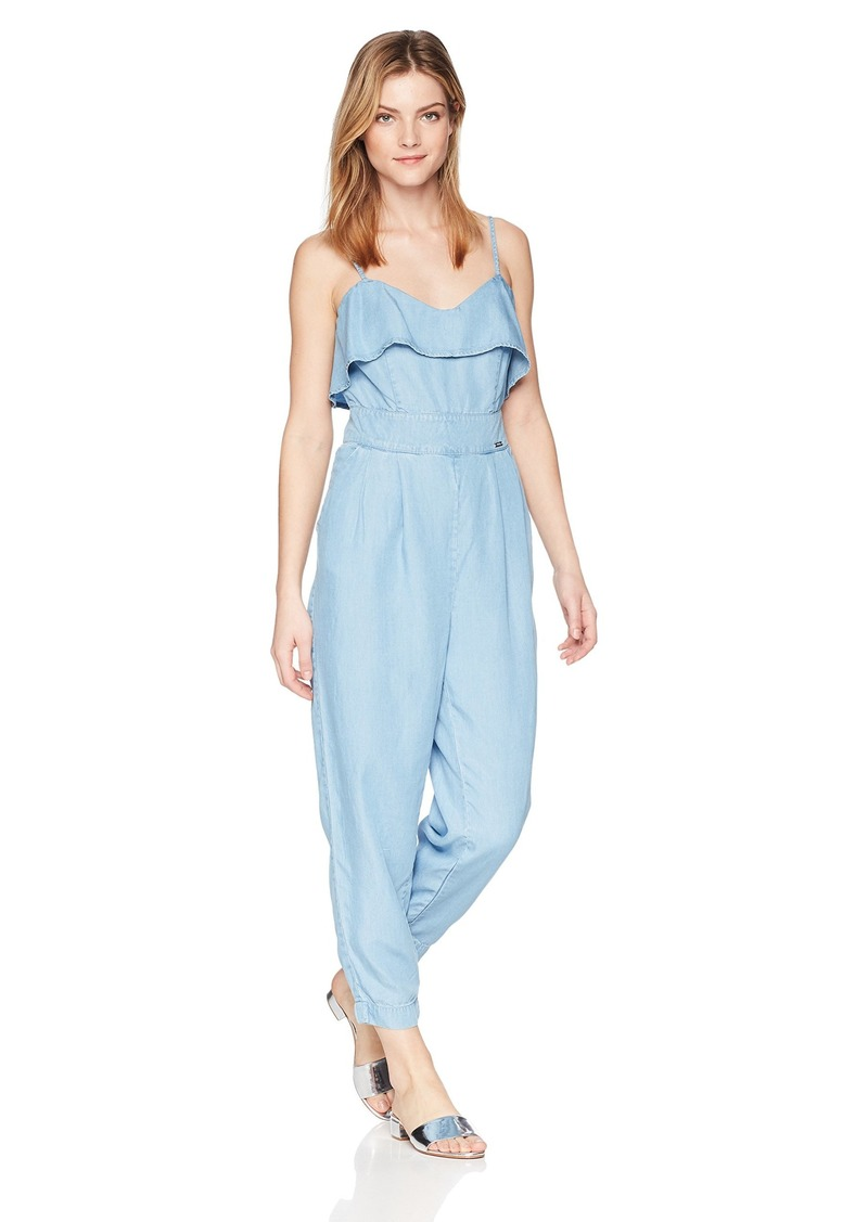 Guess Women's Sapphira Jumpsuit Summer sea wash S