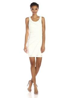 GUESS Women's Sequin Burst Body Con Dress