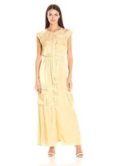 Guess Women's Short Sleeve Amari Cargo Dress  XS