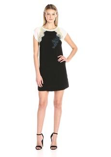 GUESS Women's Short Sleeve Ellis T-Shirt Dress  XS