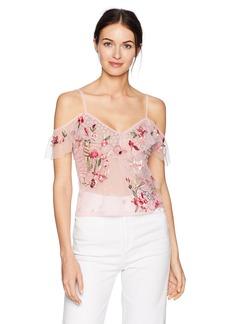 GUESS Women's Short Sleeve Maxima Top Shirt  S