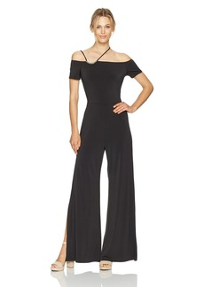 GUESS Women's Short Sleeve Veronica Strappy Jumpsuit