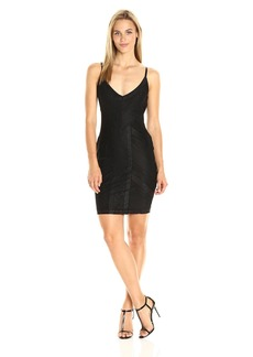 Guess Women's Sleeve Less Riva Lace Dress  S R