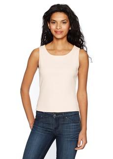 GUESS Women's Sleeveless Aaliyah Ribbed Crop Top