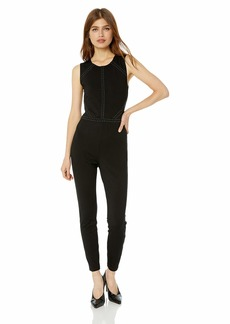 GUESS Women's Sleeveless Adora Studded Jumpsuit  XL