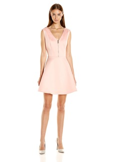 GUESS Women's Sleeveless Agafia Fit and Flare Dress