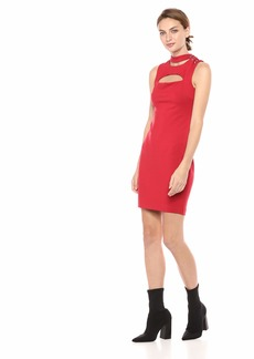 GUESS Women's Sleeveless Arita Dress Sultry red XS