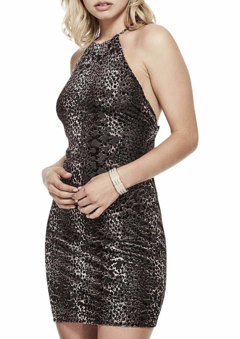 GUESS Women's Sleeveless Chloe Velvet Dress