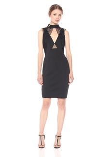 Guess Women's Sleeveless Claudia Mesh Dress  M