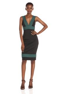 Guess Women's Sleeveless Delmara Banded Midi Dress  XL