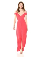 Guess Women's Sleeveless Ensley Maxi Dress  L