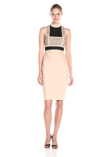 Guess Women's Sleeveless Evon Embellished Dress