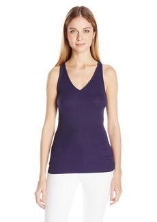 GUESS Women's Sleeveless Faye Beaded Back Top  M