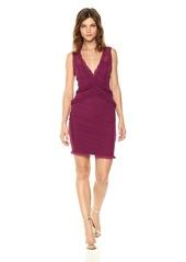 Guess Women's Sleeveless Frenchi Ruffle Dress  XL