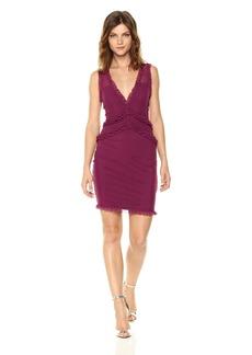 Guess Women's Sleeveless Frenchi Ruffle Dress  XS