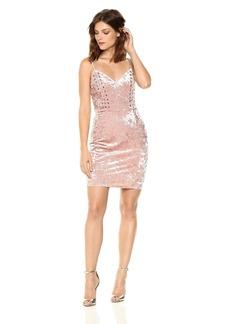 Guess Women's Sleeveless Gennifer Velvet Dress  L