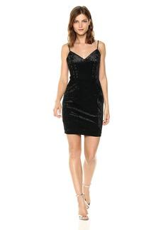 Guess Women's Sleeveless Gennifer Velvet Dress  S