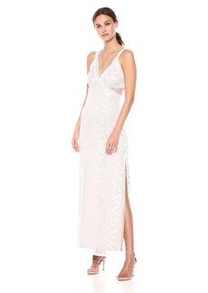 GUESS Women's Sleeveless Gianna Lace Maxi Dress  M