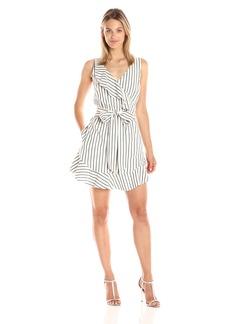 Guess Women's Sleeveless Gianna Ruffle Dress  XL
