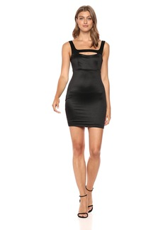 Guess Women's Sleeveless Jamaica Dress Dress -jet black a M