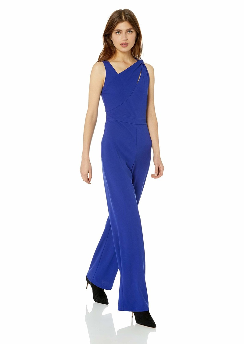 GUESS Women's Sleeveless Kasha Jumpsuit Blue iris XS