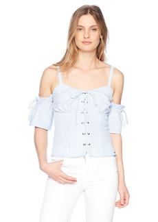 GUESS Women's Sleeveless Kate Shirt  L