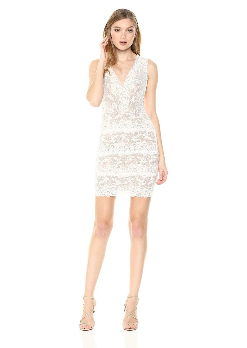 GUESS Women's Sleeveless Katrina LACE Dress  XS