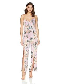 Guess Women's Sleeveless Leigh Jumpsuit Tropic iris Lavender