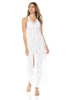 Guess Women's Sleeveless Leilani Maxi Dress Dress -pure white S